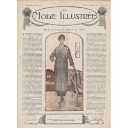 журнал мода La Mode Illustrée 1919 N°05