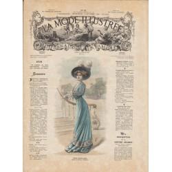 журнал мода La Mode Illustrée 1908 N°42