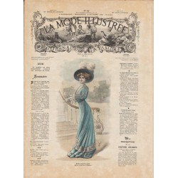 Revue complète de La Mode Illustrée 1908 N°42