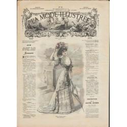 журнал мода La Mode Illustrée 1908 N°25