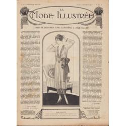 журнал мода La Mode Illustrée 1919 N°12