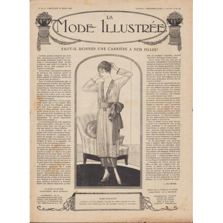 Complete magazine La Mode Illustrée 1919 N°12