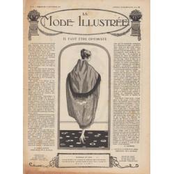 Complete magazine La Mode Illustrée 1919 N°48