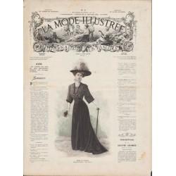 журнал мода La Mode Illustrée 1908 N°04