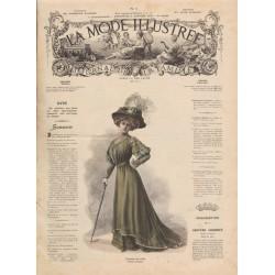 Revue complète de La Mode Illustrée 1908 N°01