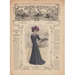 Complete magazine La Mode Illustrée 1907 N°52