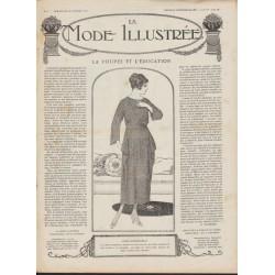 журнал мода La Mode Illustrée 1919 N°04