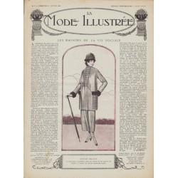 журнал мода La Mode Illustrée 1919 N°09