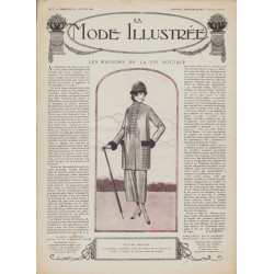 Revue complète de La Mode Illustrée 1919 N°09