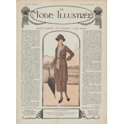 Complete magazine La Mode Illustrée 1919 N°11