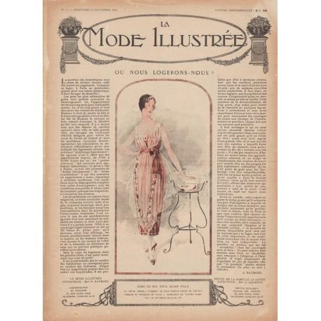 Complete magazine La Mode Illustrée 1919 N°47