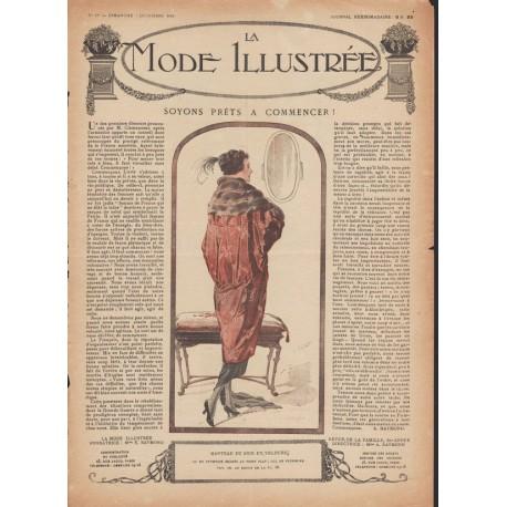 Complete magazine La Mode Illustrée 1919 N°49