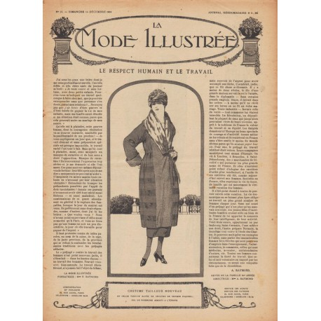 Complete magazine La Mode Illustrée 1919 N°50