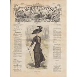 Revue complète de La Mode Illustrée 1908 N°46