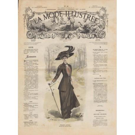 Complete magazine La Mode Illustrée 1908 N°46