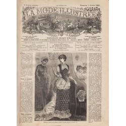 Revue complète de La Mode Illustrée 1883 N°05