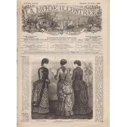 журнал мода La Mode Illustrée 1883 N°07
