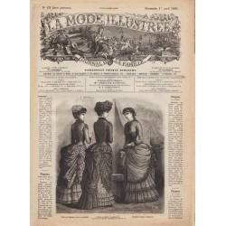 Complete magazine La Mode Illustrée 1883 N°13