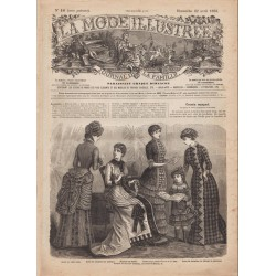 Revue complète de La Mode Illustrée 1883 N°16