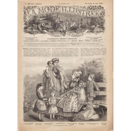 Complete magazine La Mode Illustrée 1883 N°18