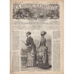 Complete magazine La Mode Illustrée 1883 N°20
