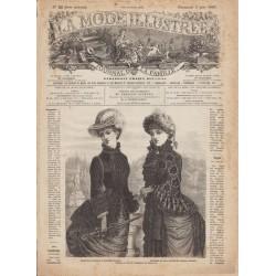 Revue complète de La Mode Illustrée 1883 N°22