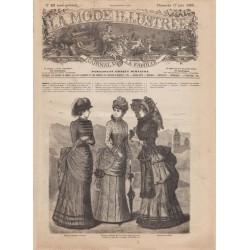 Revue complète de La Mode Illustrée 1883 N°24