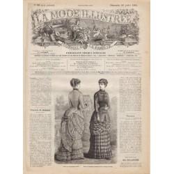 Revue complète de La Mode Illustrée 1883 N°29