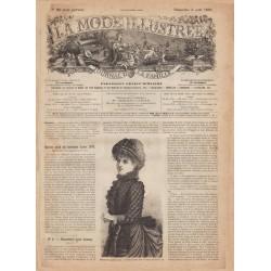 Complete magazine La Mode Illustrée 1883 N°31