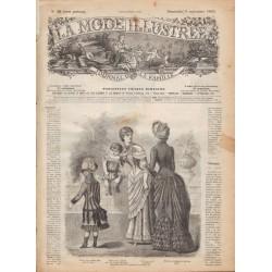 Complete magazine La Mode Illustrée 1883 N°36
