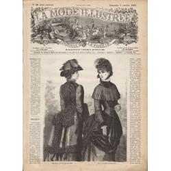 Complete magazine La Mode Illustrée 1883 N°40