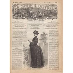 Complete magazine La Mode Illustrée 1883 N°46