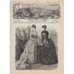 Revue complète de La Mode Illustrée 1883 N°49