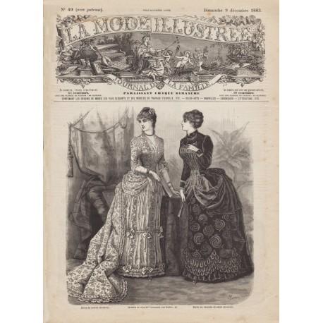 Complete magazine La Mode Illustrée 1883 N°49