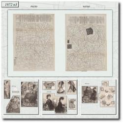 vykrojku La Mode Illustrée 1872 N°3