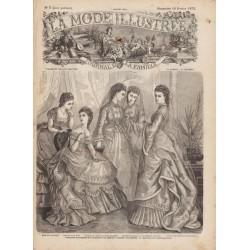 Revue complète de La Mode Illustrée 1872 N°07