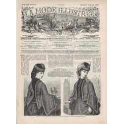 журнал мода La Mode Illustrée 1872 N°05
