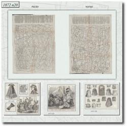 Sewing patterns La Mode Illustrée 1872 N°20
