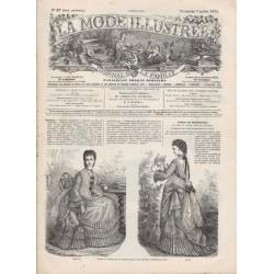 Revue complète de La Mode Illustrée 1872 N°27