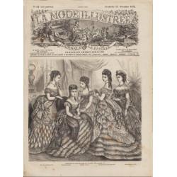 Complete magazine La Mode Illustrée 1872 N°51