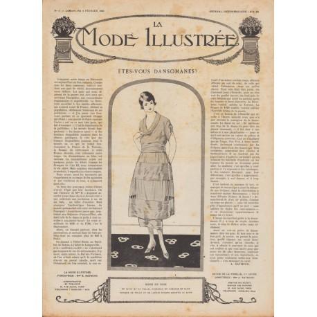Complete magazine La Mode Illustrée 1920 N°06