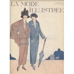 Complete magazine La Mode Illustrée 1923 N°06