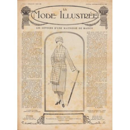 Complete magazine La Mode Illustrée 1920 N°10
