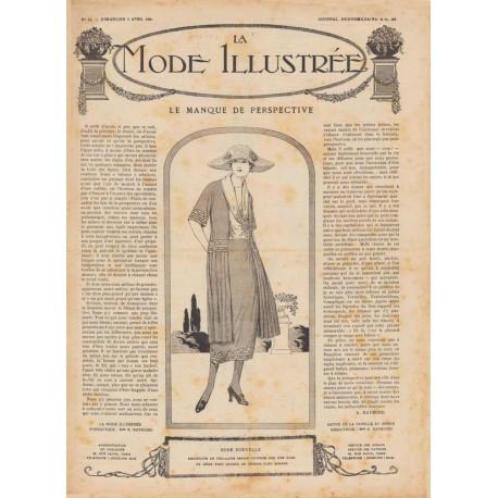 Complete magazine La Mode Illustrée 1920 N°14