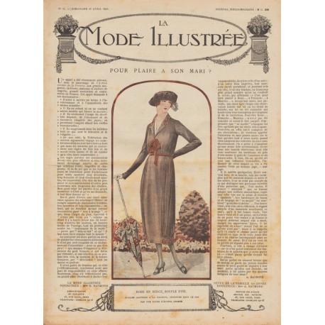 Complete magazine La Mode Illustrée 1920 N°15