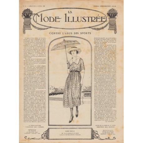 Complete magazine La Mode Illustrée 1920 N°16