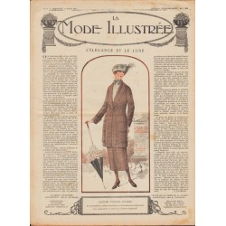 Revue complète de La Mode Illustrée 1920 N°11