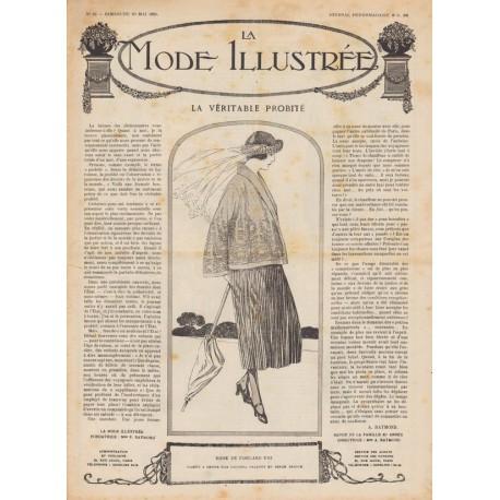Complete magazine La Mode Illustrée 1920 N°22