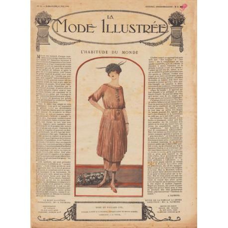 Complete magazine La Mode Illustrée 1920 N°21