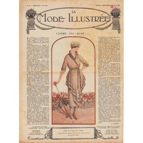 Complete magazine La Mode Illustrée 1920 N°23